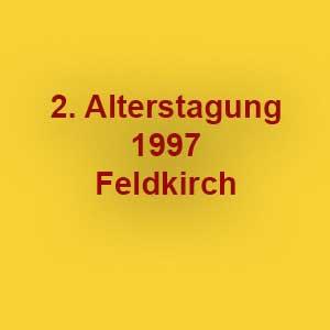 2. Rheintaler Alterstagung 1997